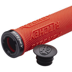 Ritchey WCS Truegrip X Locking Griffe Ø30mm red